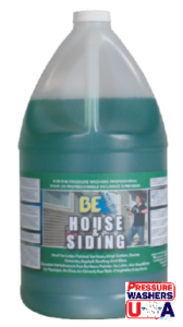 Pressure Washing Cleaners and Sealers