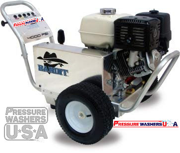 4000 Psi 4 Gpm Bandit Pressure Washer
